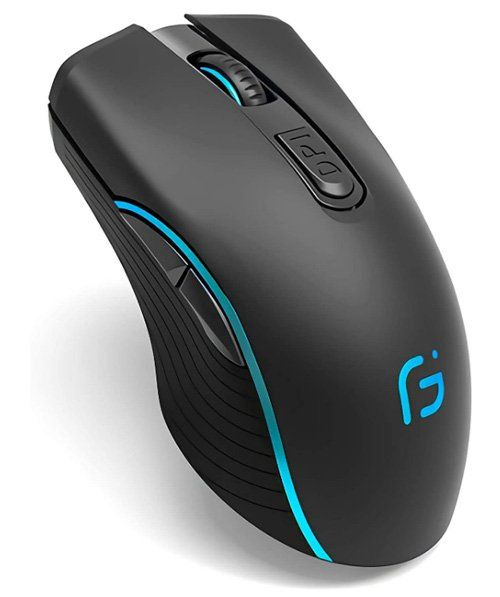 Best mouse for graphic design Wireless Gaming Mouse, VEGCOO C8
