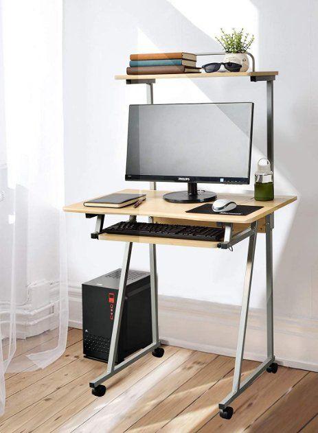 Small computer workstation desk - Aingoo Writing Desk Small Portable Study Laptop PC Computer Work Workstation