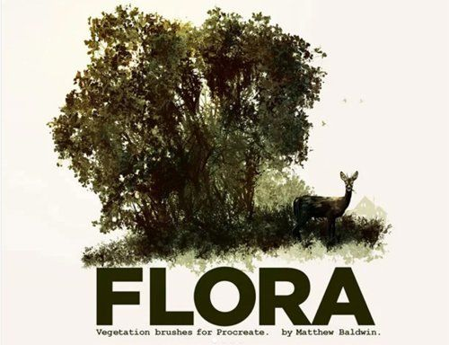 Flora: Vegetation brushes