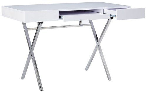 Computer desk with keyboard tray - Kings Brand Furniture Contemporary Style Home & Office Desk