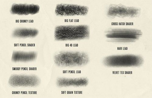 Procreate Brushes: Procreate Brushes Pack