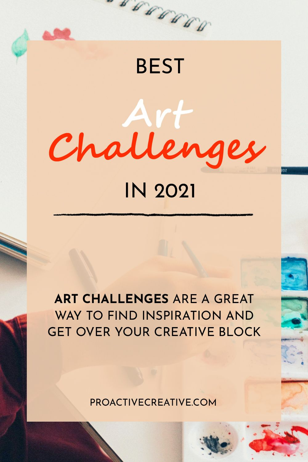 Best art challenges and ideas