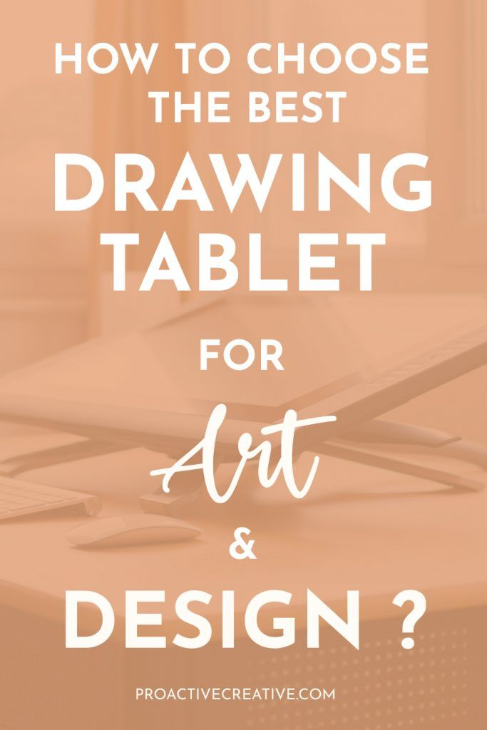 Best drawing tablets for art & design