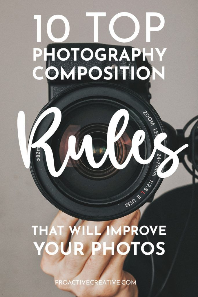 Top Photography Composition Rules