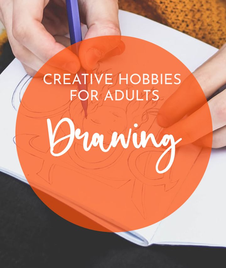 Creative drawing hobbies for adults