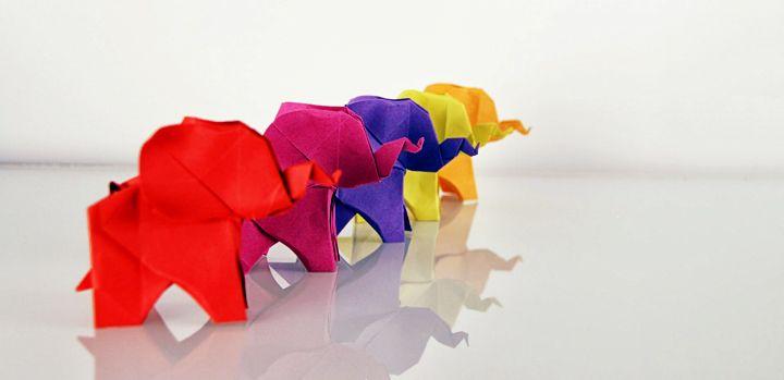 activité manuelle adulte - origami