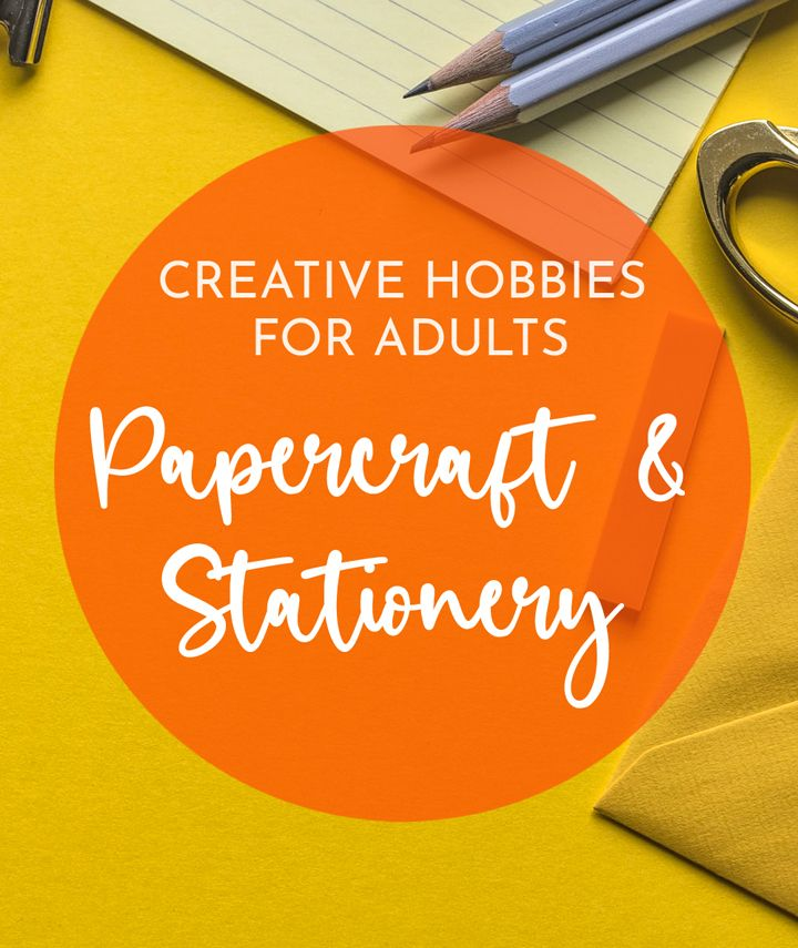 Creative papercraft and stationery hobbies for adults