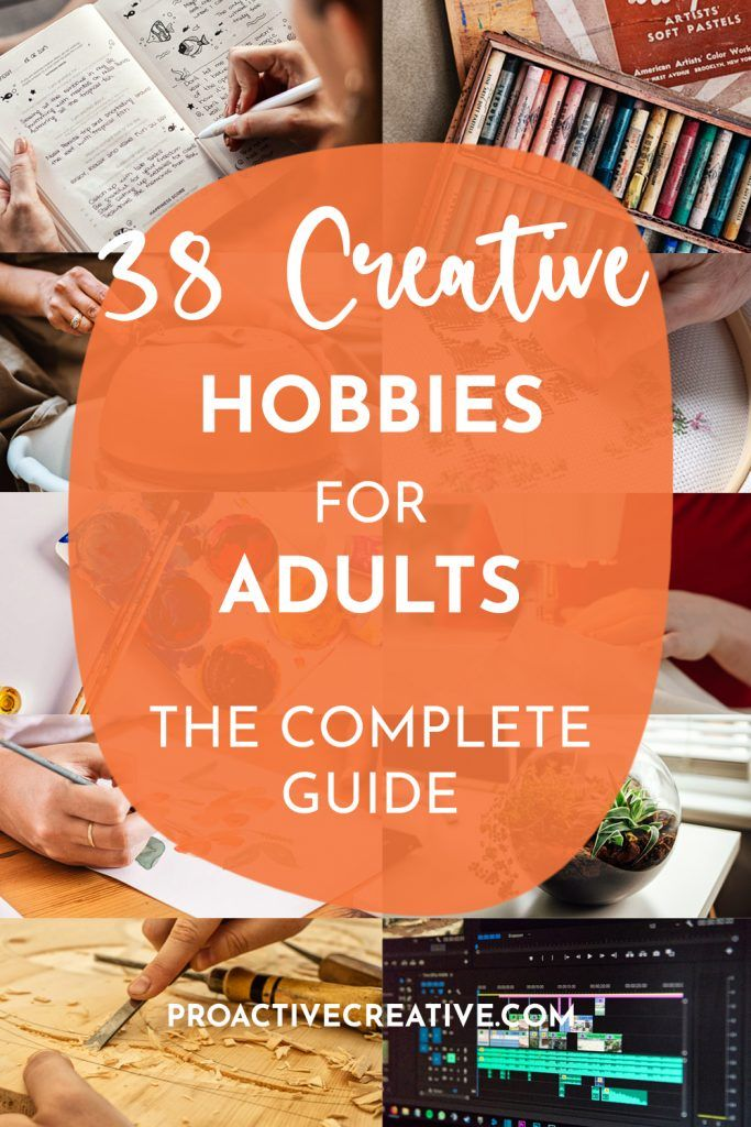 The ultimate guide of creative hobbies for adults