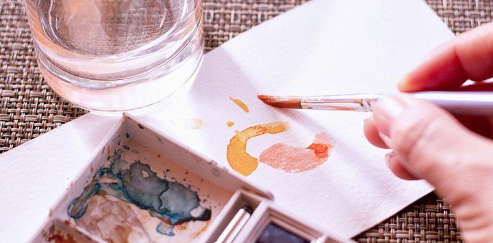 loisirs créatifs pour adultes - aquarelle