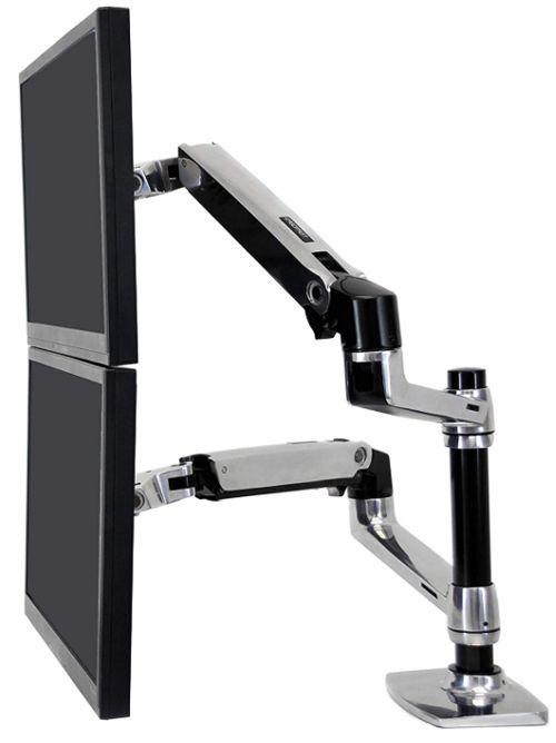 Ergotron – LX Dual Stacking Arm