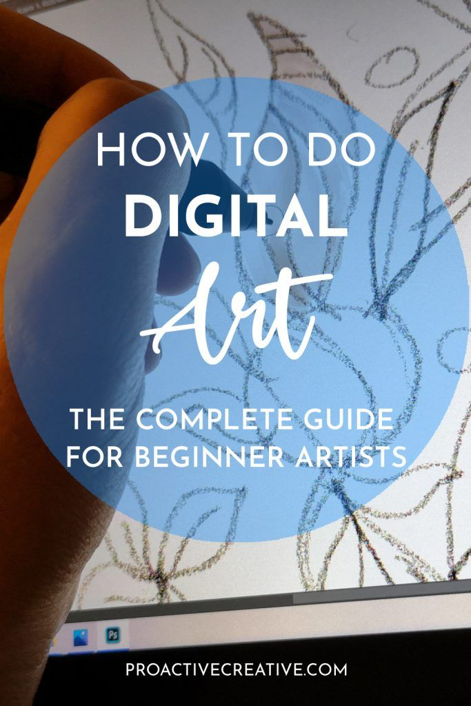 How to do digital art step by step guide for beginners