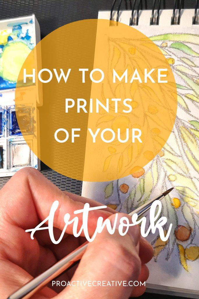 How to make prints of your artwork