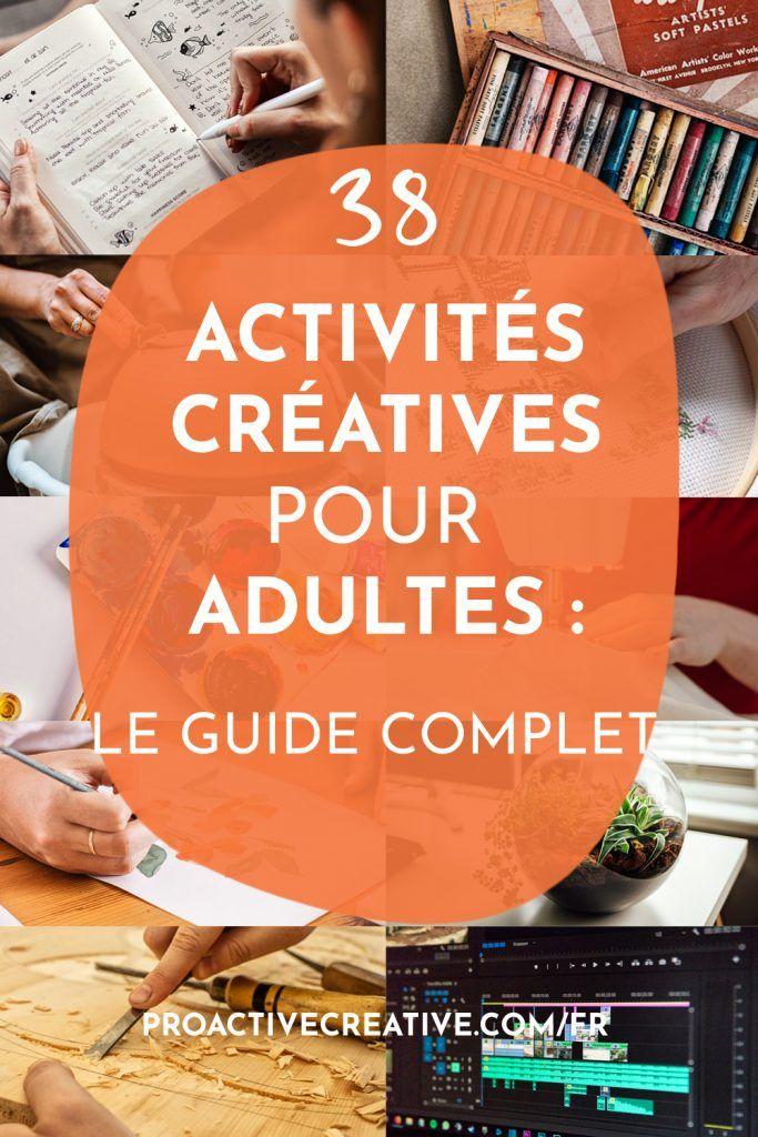 Meilleures activités manuelles et loisir pour adulte