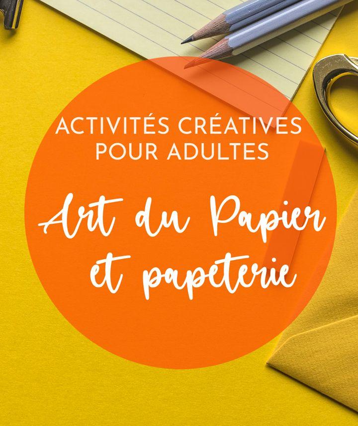 activité manuelle - art du Papier et papeterie