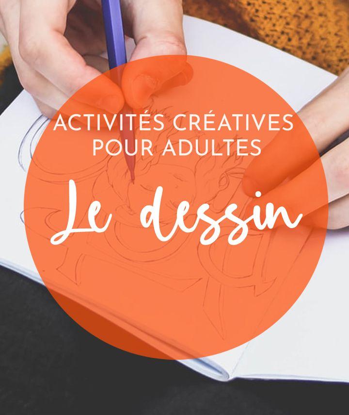 Activité manuelle pour adultes - dessin