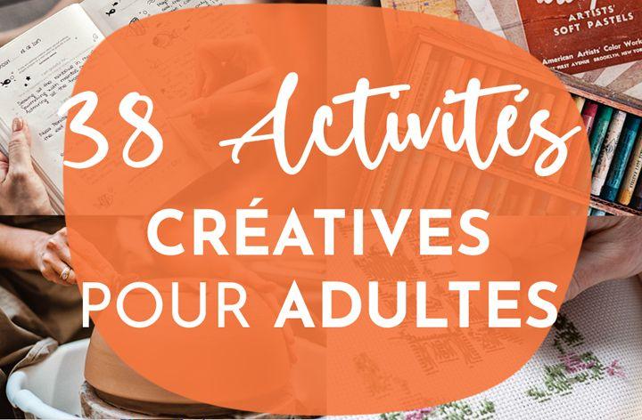 Meilleures activités créatives pour adultes