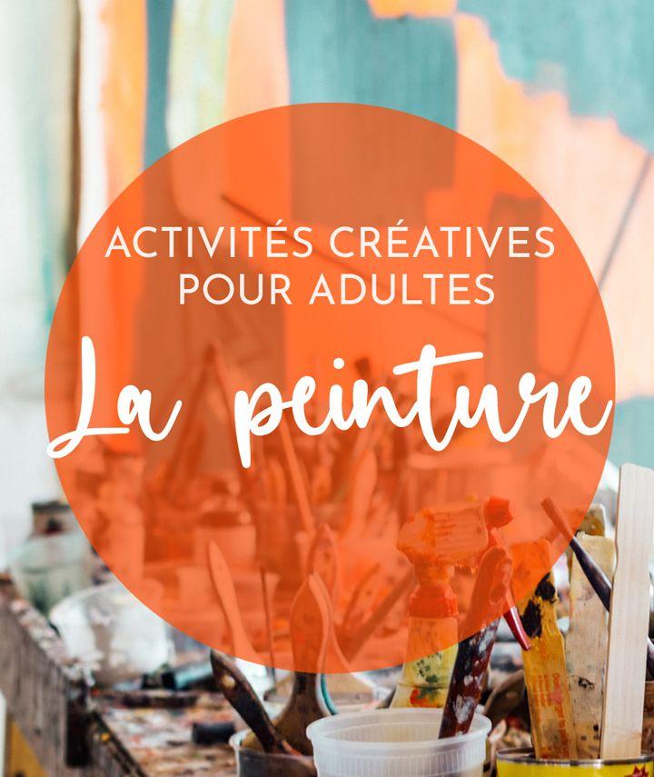 activité manuelle adultes - peinture