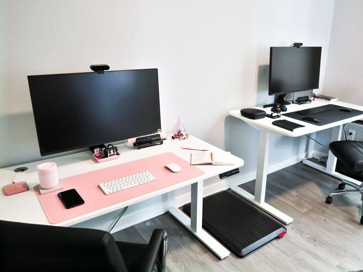 adjustable computer desks