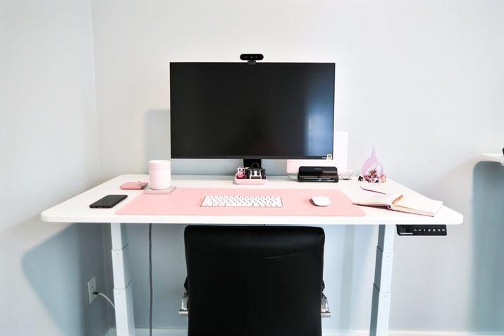 small adjustable desk