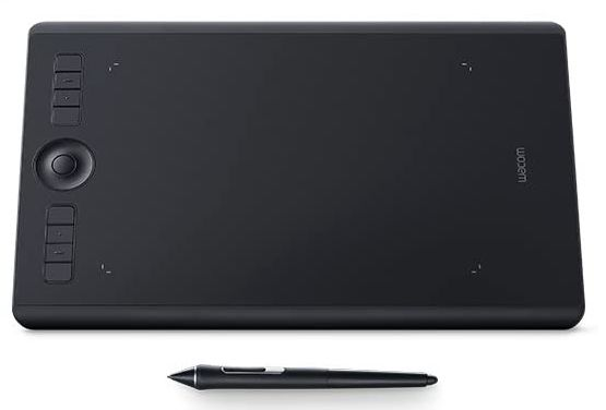Wacom Intuos Pro(Medium)Best Overall Drawing Tablet