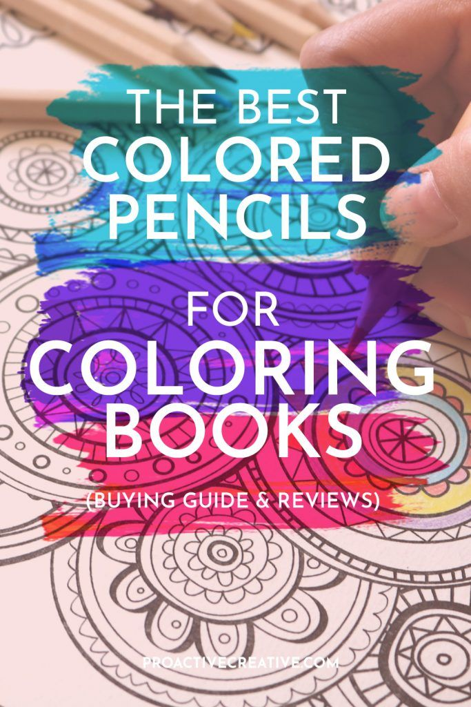 The best colored pencils for coloring books