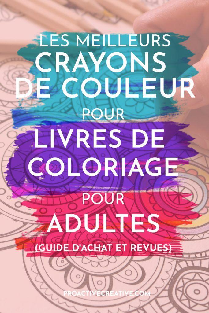Les meilleurs crayons de couleur pour livres de coloriage - Guide d'achat & avis