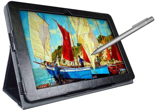Simbans Picasso Tab 10-inch Best Low-Cost Android Tablet for Note Taking
