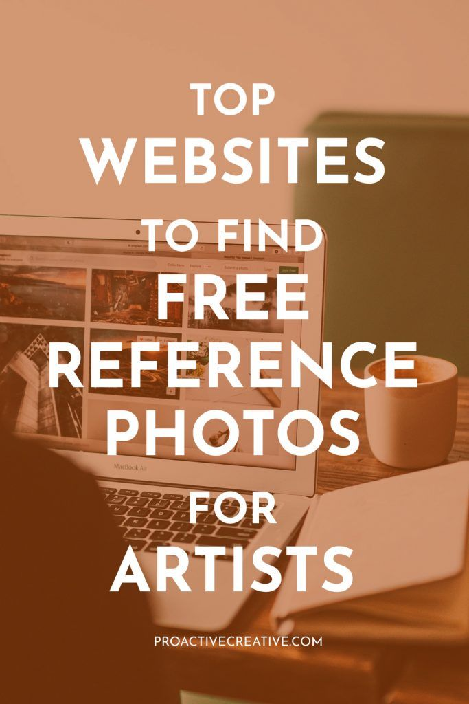 Best websites to find free photos for artists