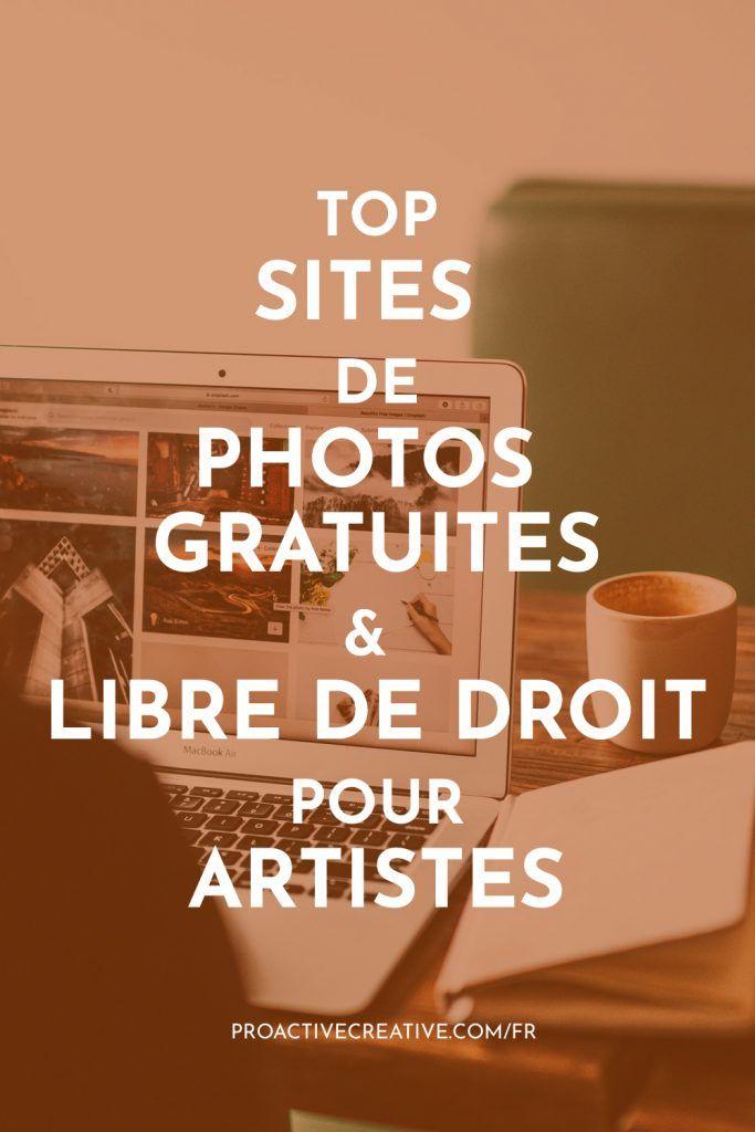 Meilleures sites de photos gratuites & libre de droit pour artistes