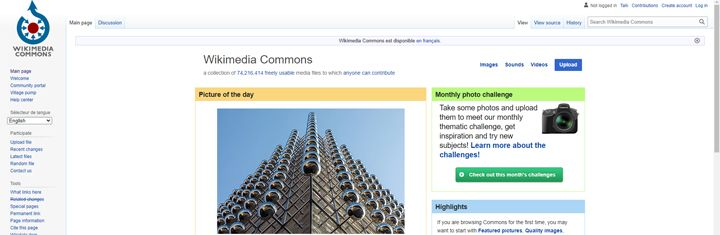 Wikimedia Commons, reference photos for artists