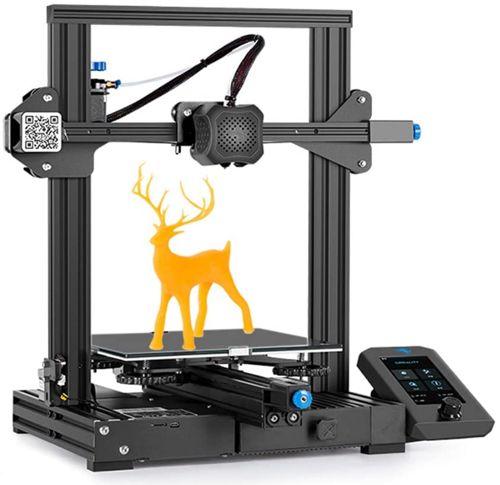 Creality Ender 3 V2, Best First Mid-Range 3D Printer for Beginners