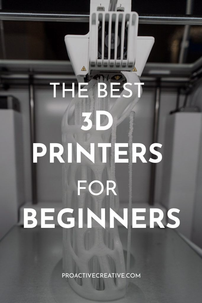 The best 5 3d printers for beginners