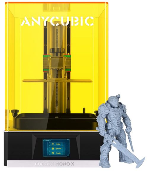 ANYCUBIC Photon Mono X 3D Resin Printer, Best Overall Beginners 3D Printer for UV Resin - best printer for begginers
