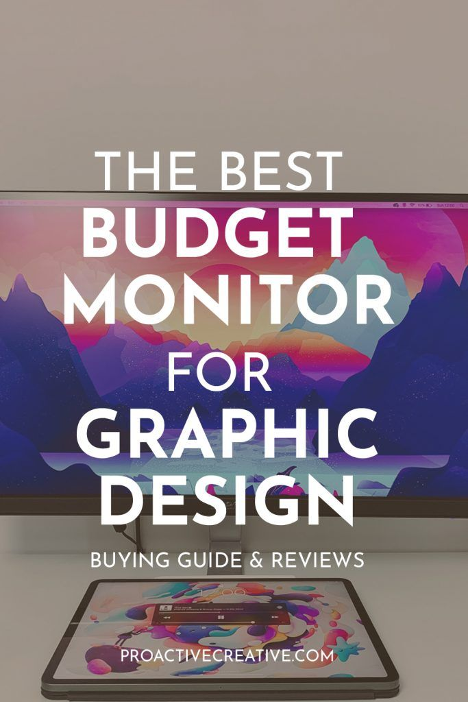 The best monitors for graphic design