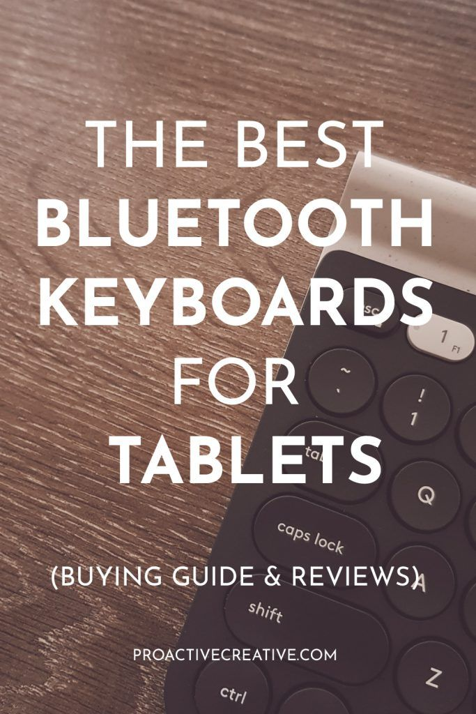 The Best Bluetooth Keyboard for Tablets