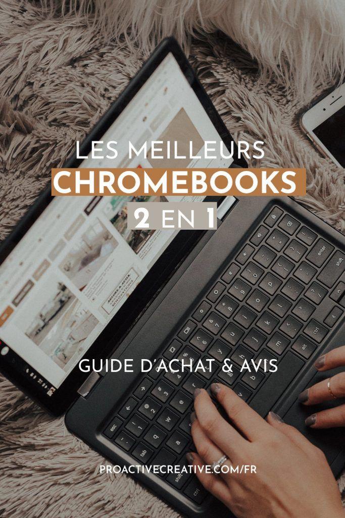Les meilleurs Chromebooks 2 en 1