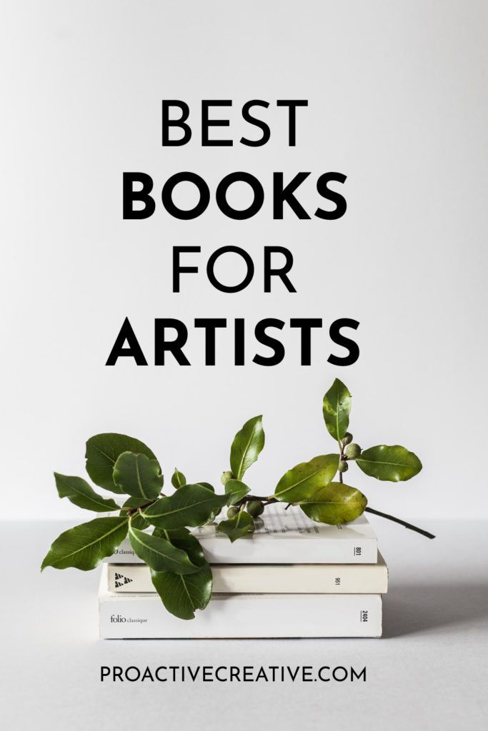 The best books for creative artists