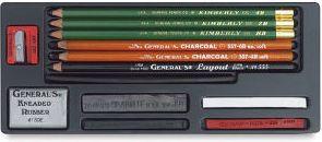 General's Drawing Class Essential Tools Kit, Best Minimalist Art Kit