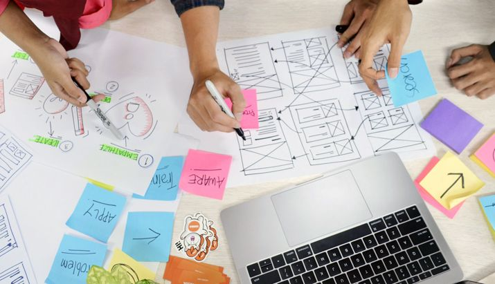 Become a graphic designer without  a degree wrap your head around user experience