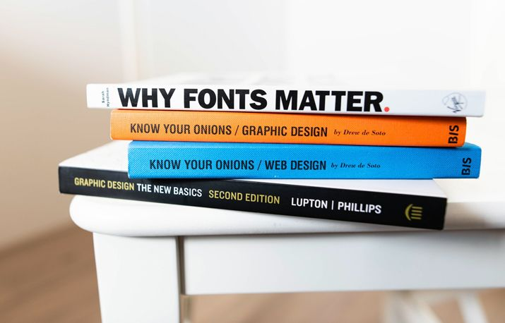 Keep learning & brushing up on your graphic design skills