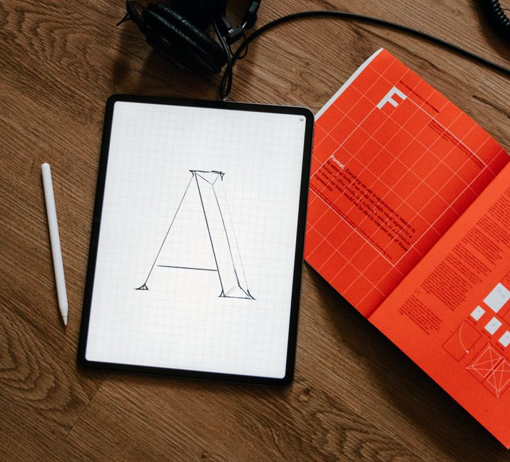 Become a graphic designer, typography