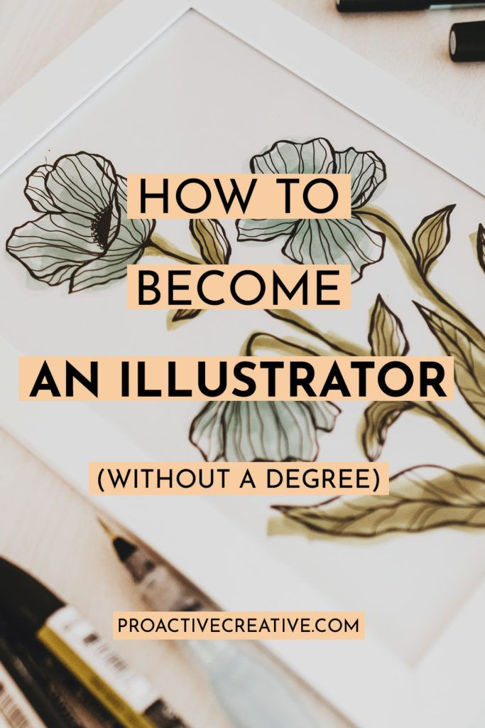 How to become an illustrator without a degree,