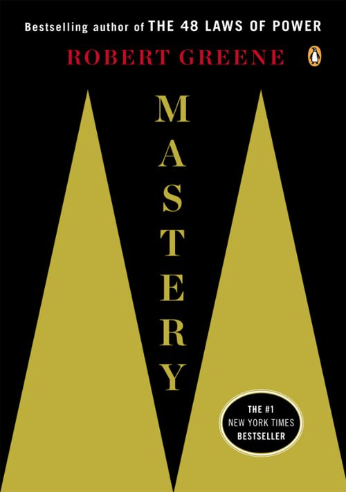 Mastery de Robert Greene, meilleur livre pour les créatifs