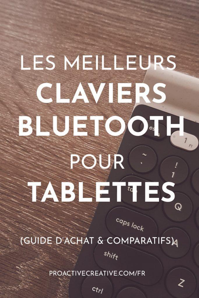 Les meilleurs clavier Bluetooth pour tablettes