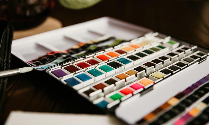 Kits de peinture pour débutants