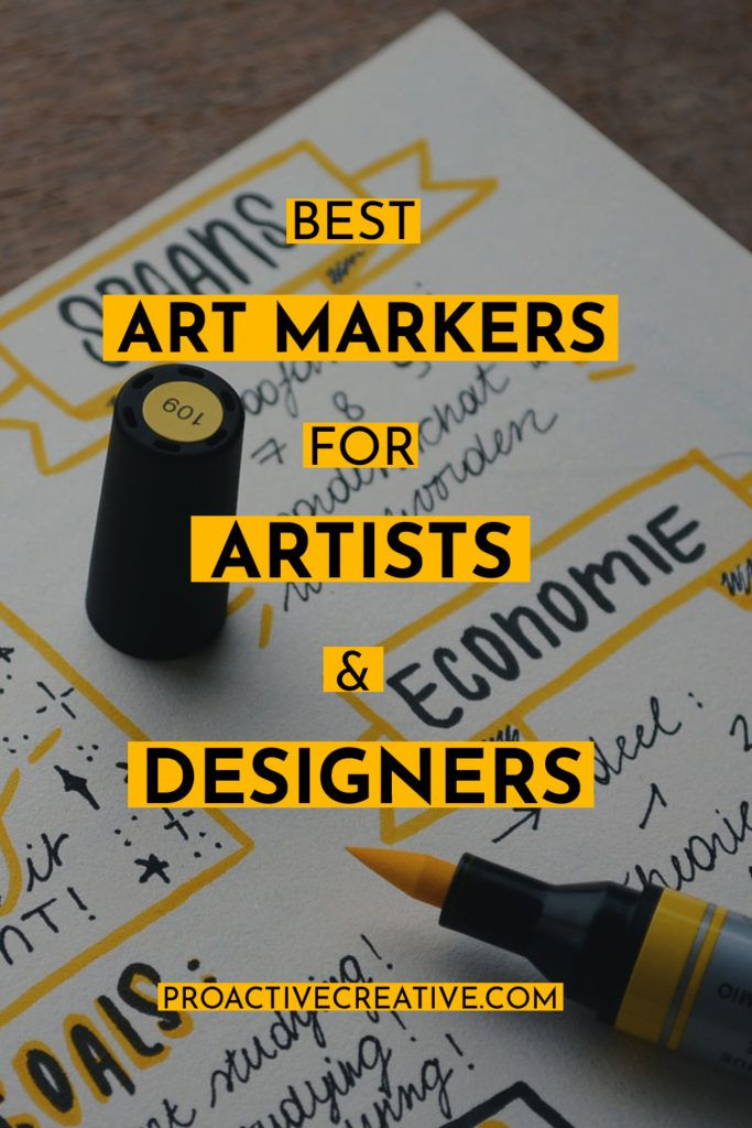 Best art markers for artists an coloring enthusiasts