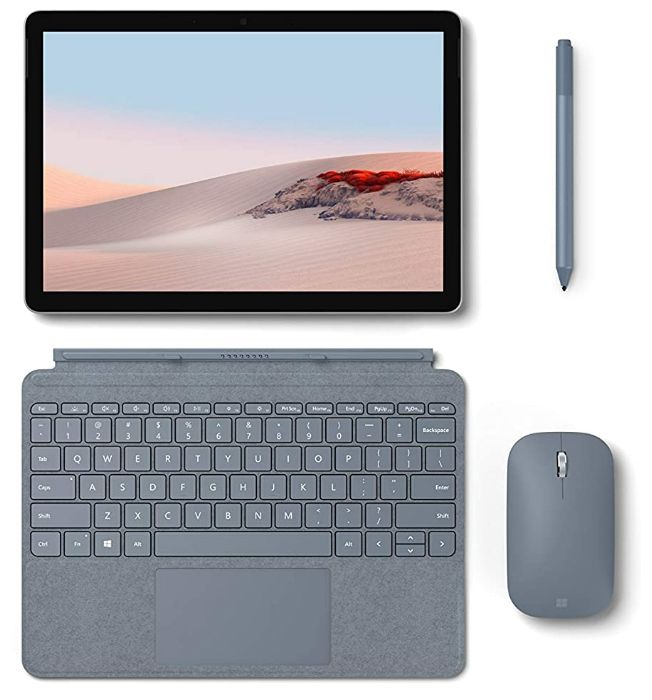 Best budget Microsoft tablet keyboard with USB port. New Microsoft Surface Go 2