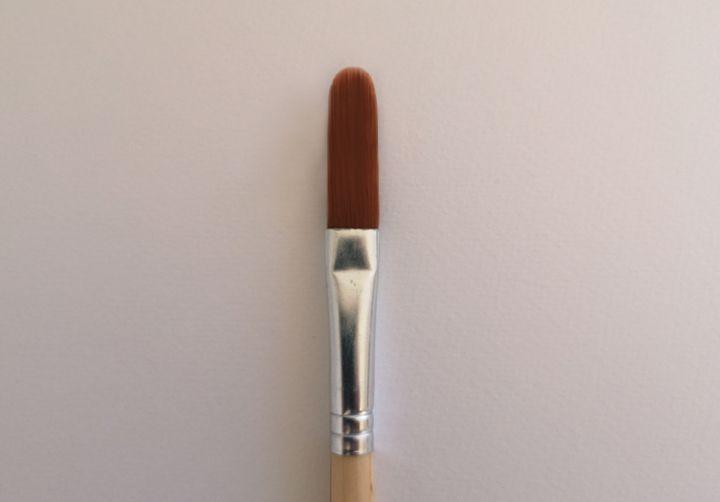 Les différents types de pinceaux. Pinceau Egbert