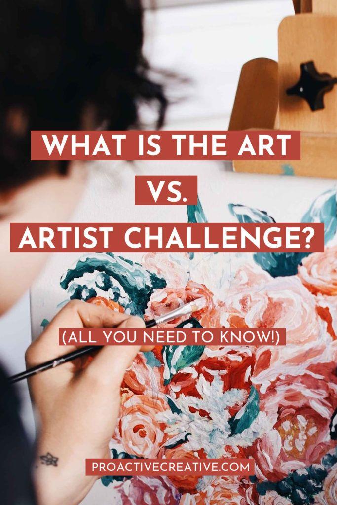 what is the Art Vs. Artist Challenge