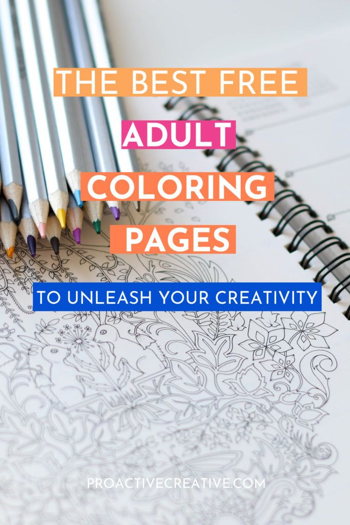 Best free printable coloring pages for adults